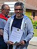 19 Jens Wünsche:  goldene Nadel für 40 jährige Mitgliedschaft