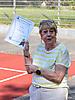 24 Annegret Wendler: Urkunde für 50 jährige Mitgliedschaft